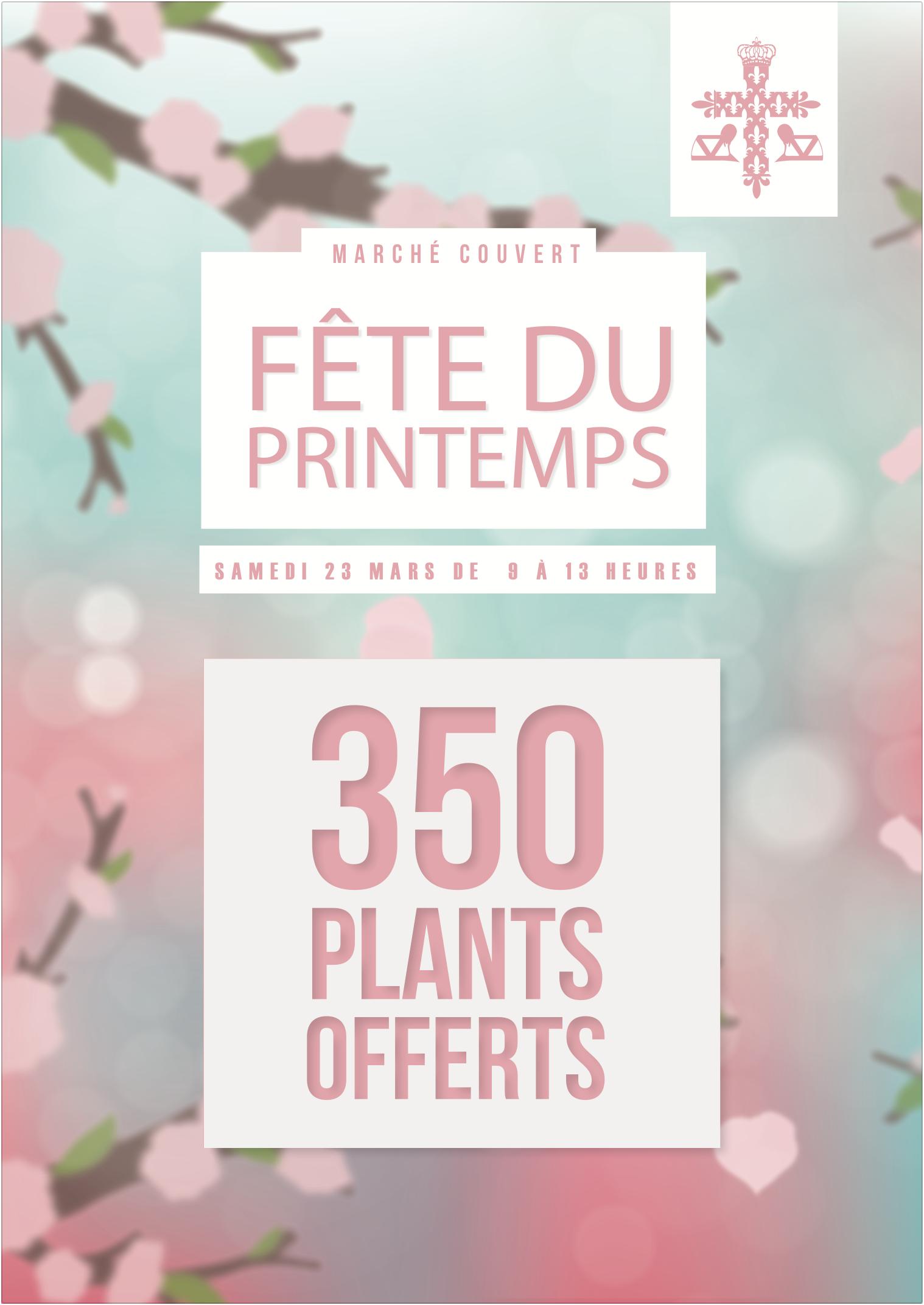 Fête du Printemps – Distribution de plants