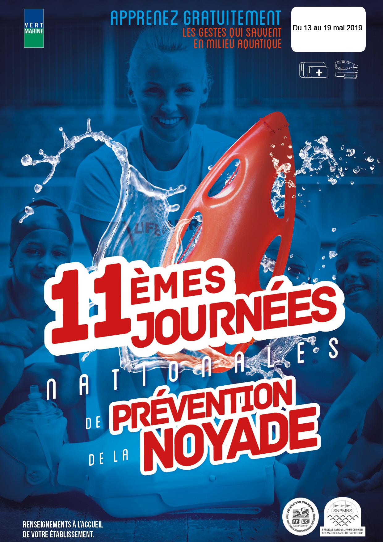 11e journées nationales de prévention de la noyade