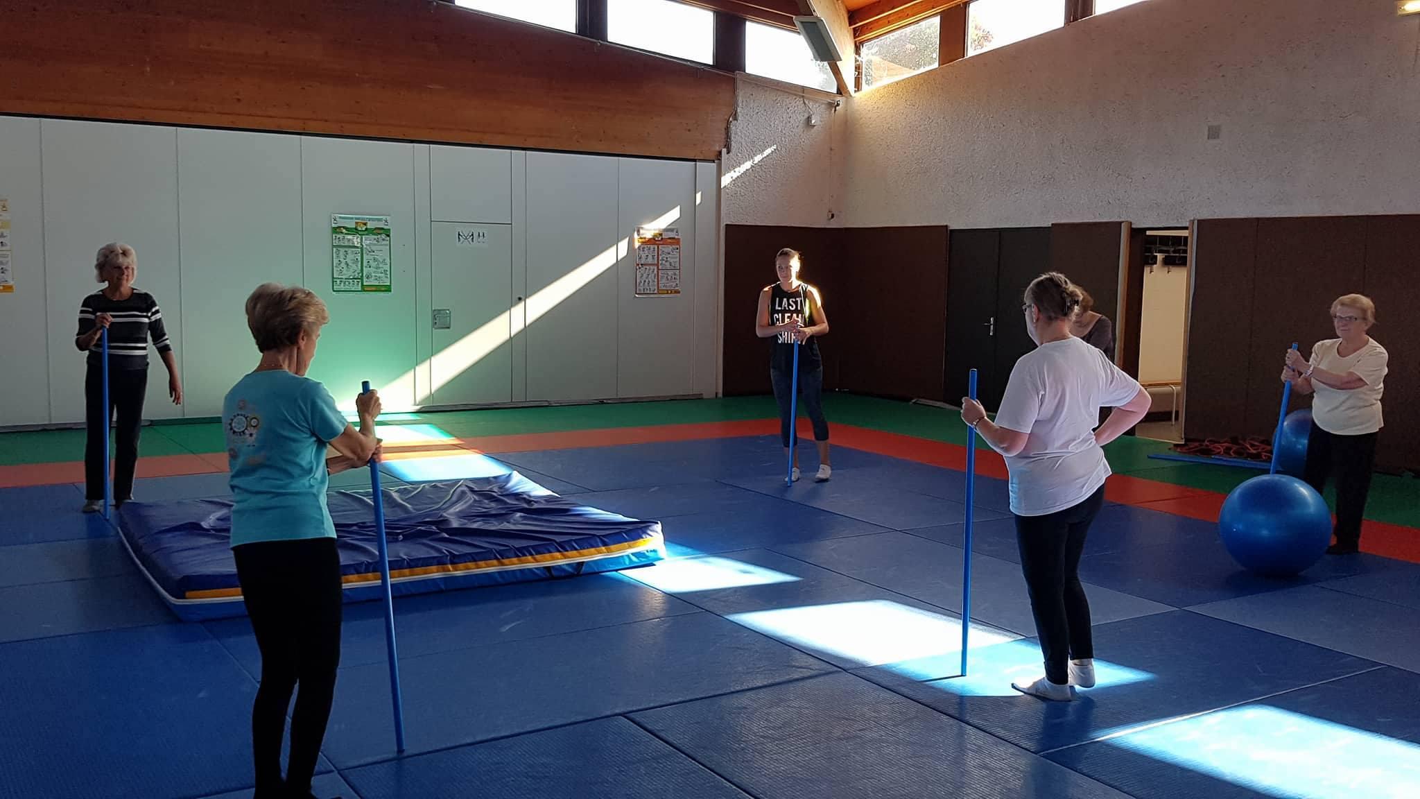 Réunion d'information Atelier Fit back (gym douce, sport, équilibre) pour seniors