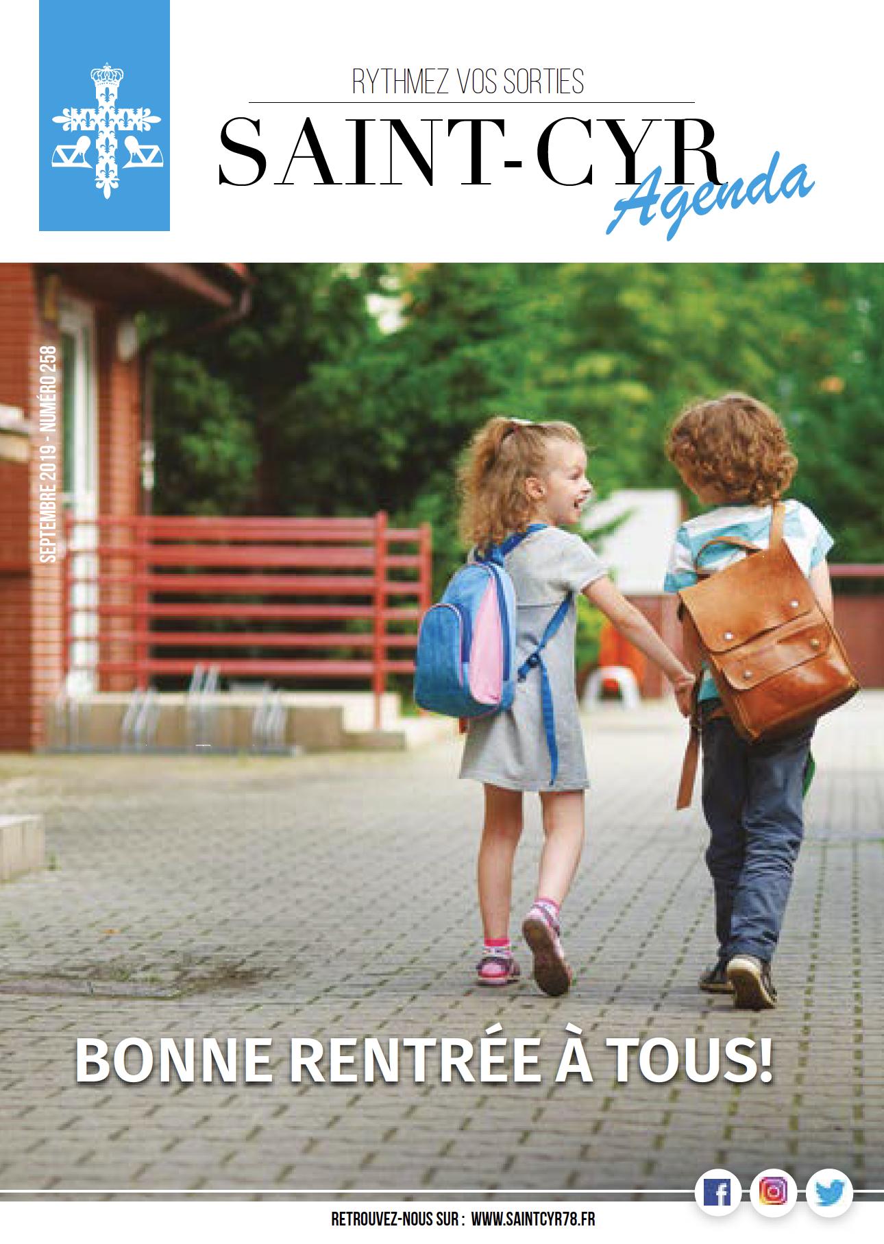 Saint-Cyr Agenda Septembre 2019