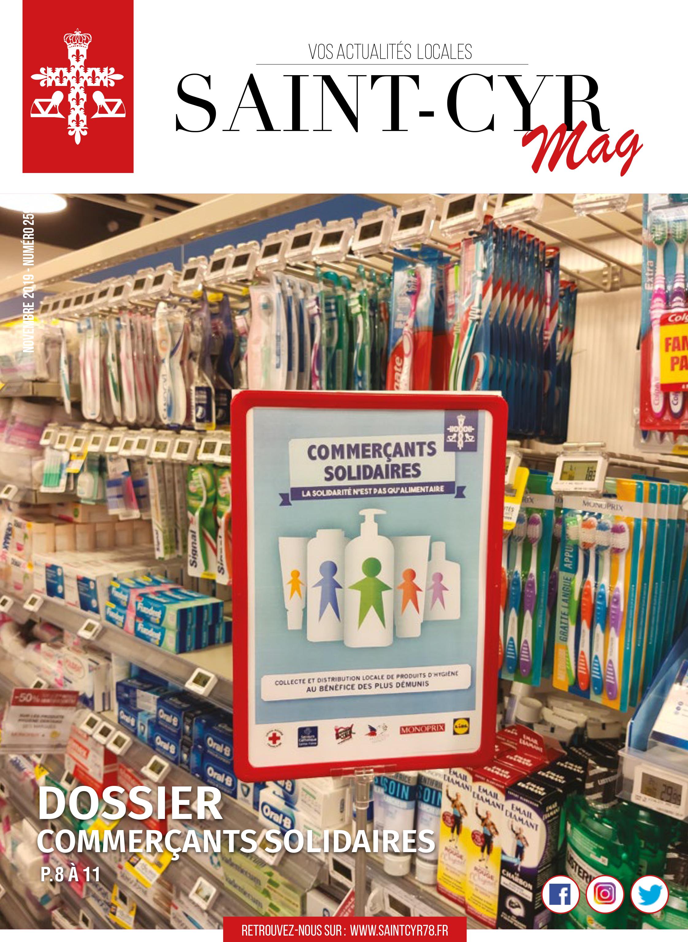 Saint-Cyr Magazine du mois de novembre 2019