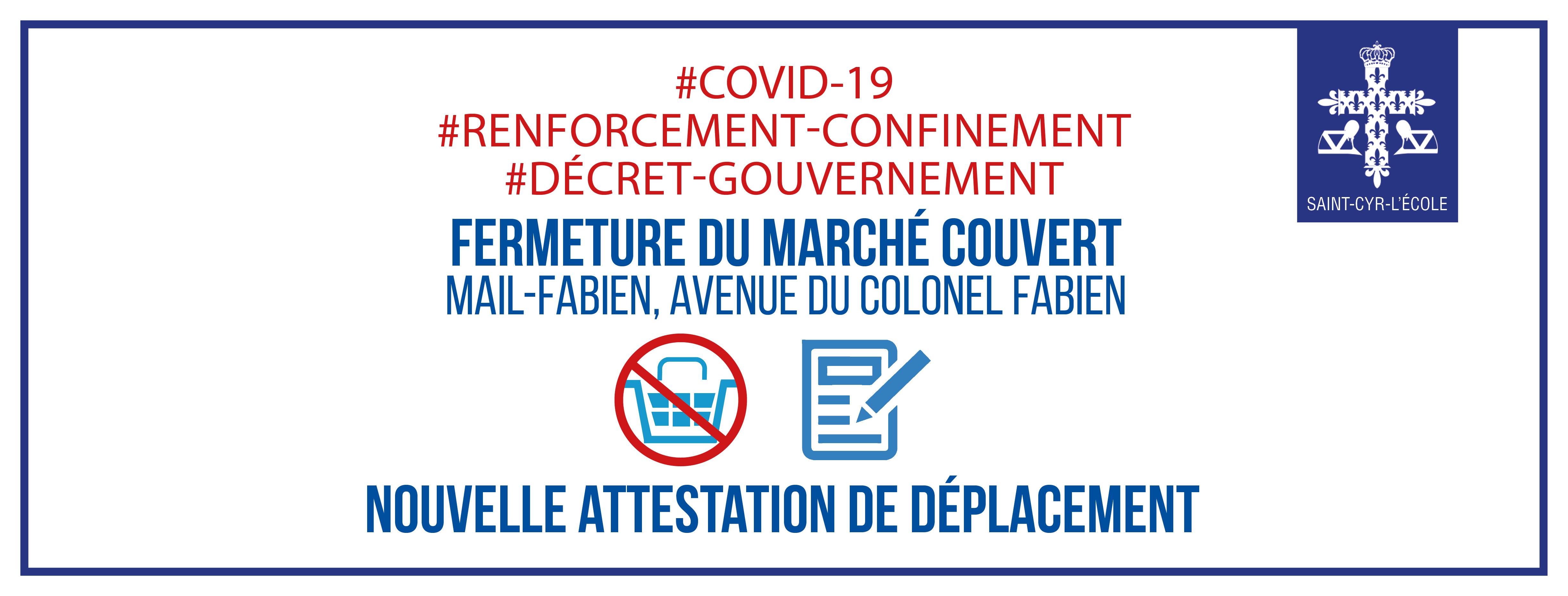 #CONFINEMENT : de nouvelles attestations de circulation