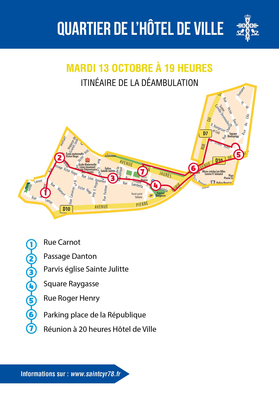 Quartier de l'Hôtel de Ville : 3e balade urbaine d'automne