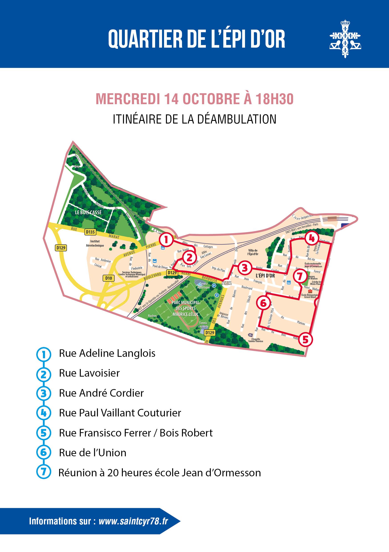 Quartier de l'Epi d'Or : 4e balade urbaine d'automne