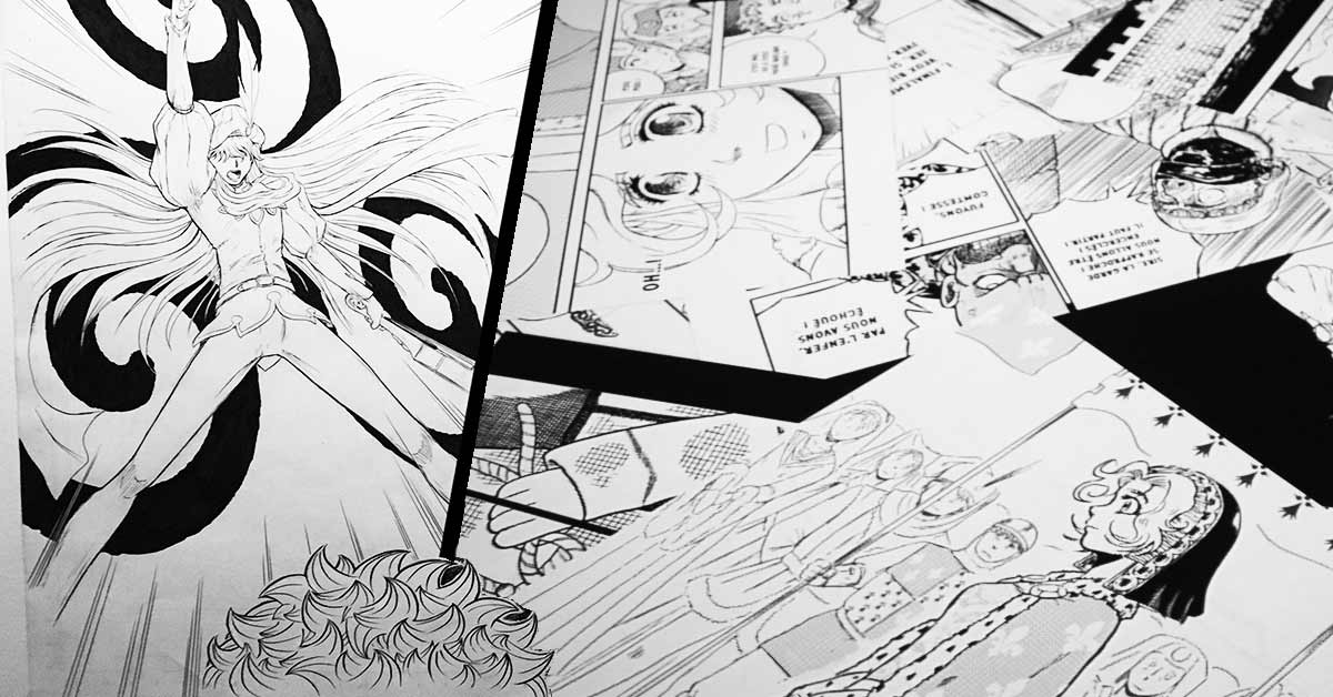 Atelier manga – 6/11 ans (session n°2)